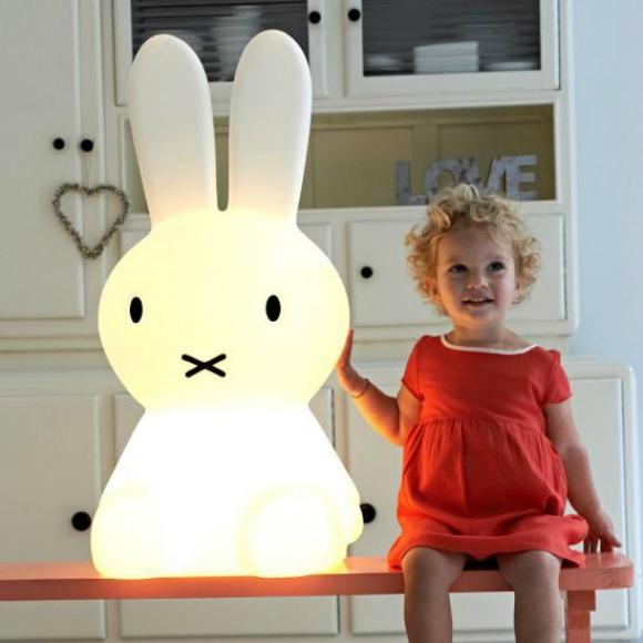 Large Miffy Lamp