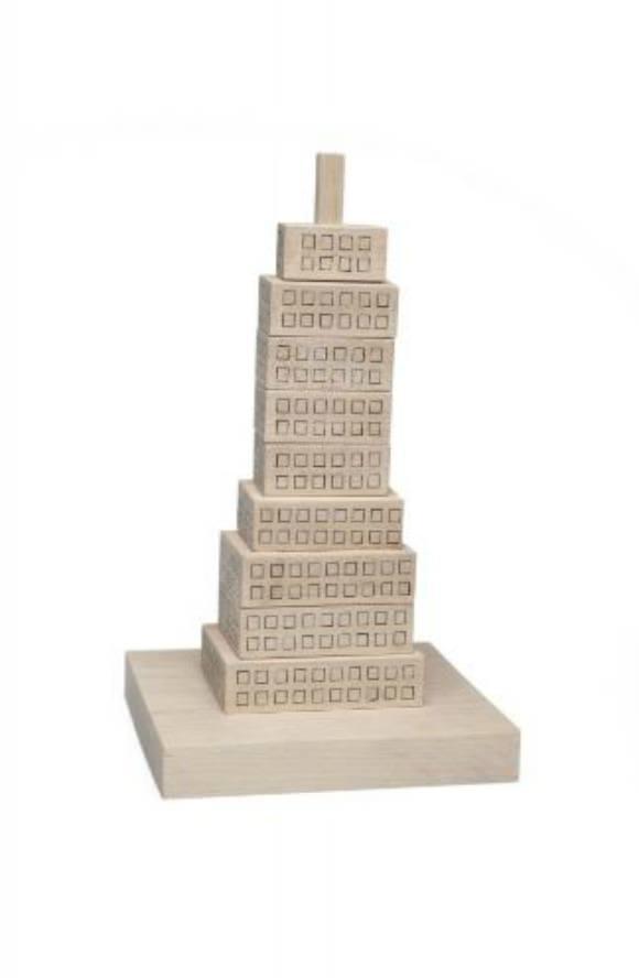 Stacking Skyscraper by Gonzalo Ciurlizza