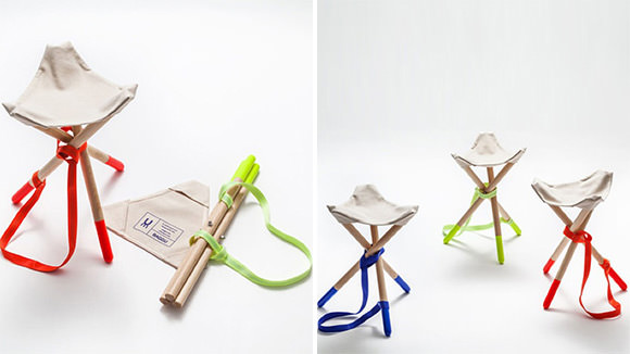 BUM travel chairs for charity by UM Project & BAGGU