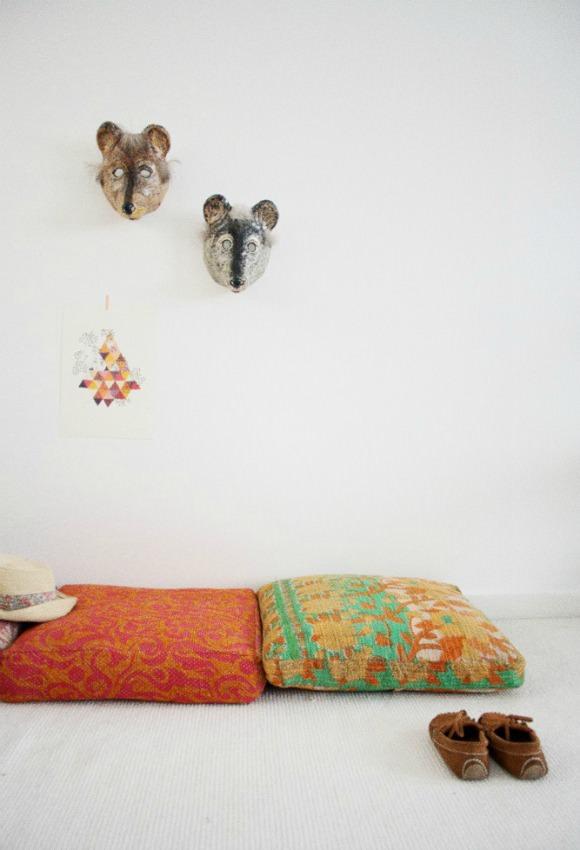 Katha Cushions from Les Petits Bohèmes