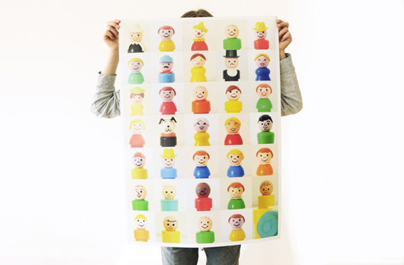 Fisher Price People Poster