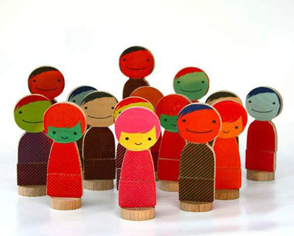 Qubis Magnetic Dolls
