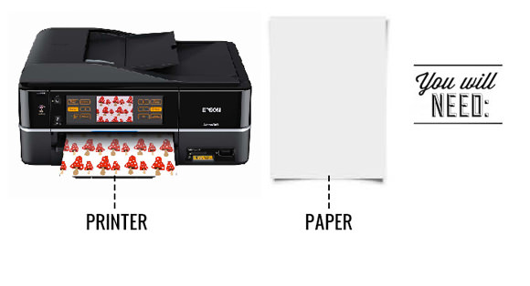 DIY Printable Gift Wrap For Kids