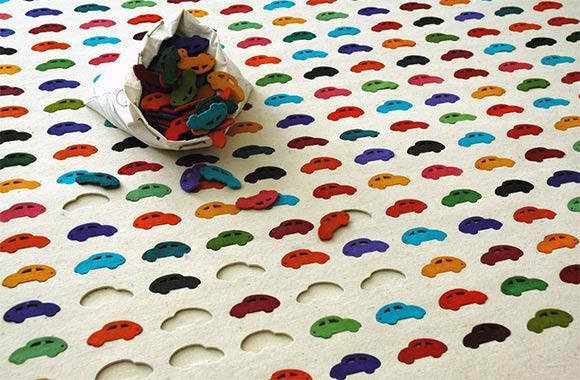 Cars Carpet by Agnieszka Czop & Joanna Rusin