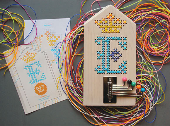 Etsy Finds: DIY Embroidery On Wood Kit for Kids