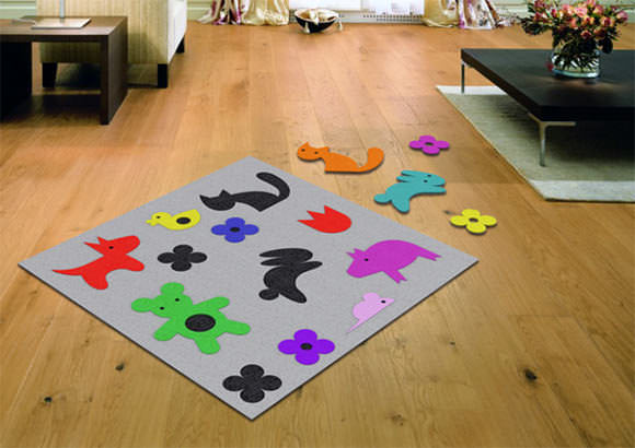 Board Game Carpet for Kids from Dam!Design on Etsy
