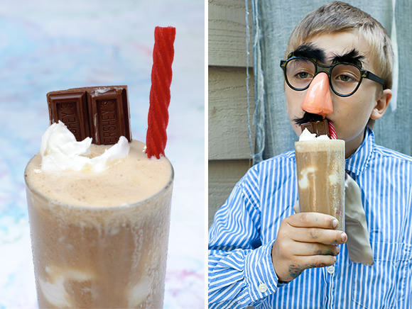 Super Science Party Drinks for Kids: The Salted Caramel Monkey Entertainer