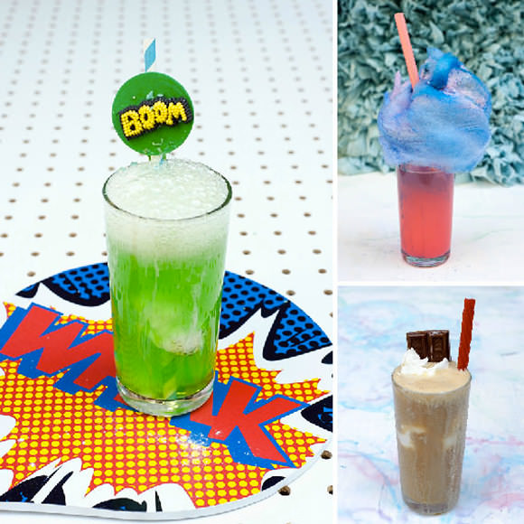 Super Science Party Drinks for Kids