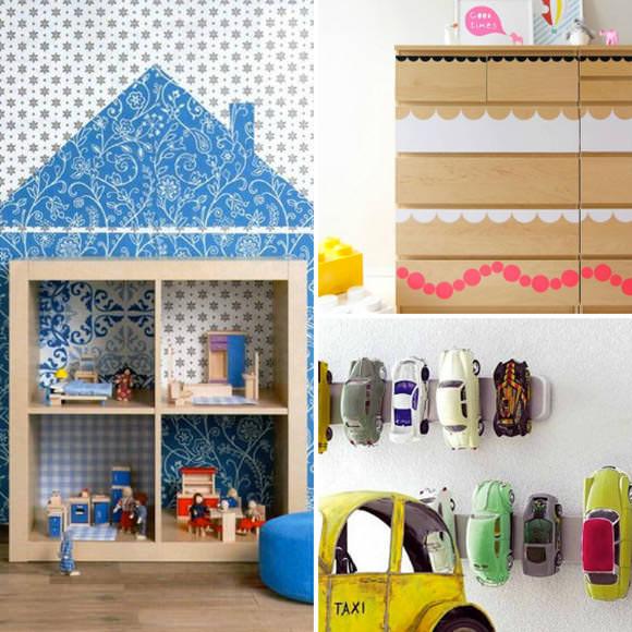 Best Ikea Hacks for Kids' Rooms