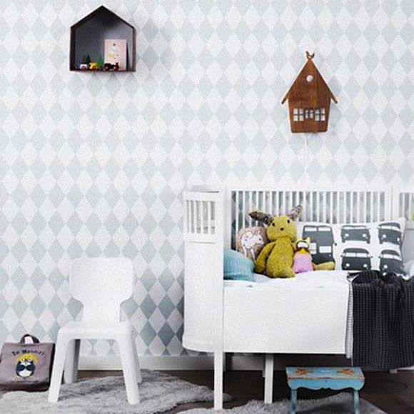 Wallpaper for Kids' Rooms via Ferm Living