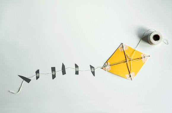 DIY Paper Kite via Made By Joel