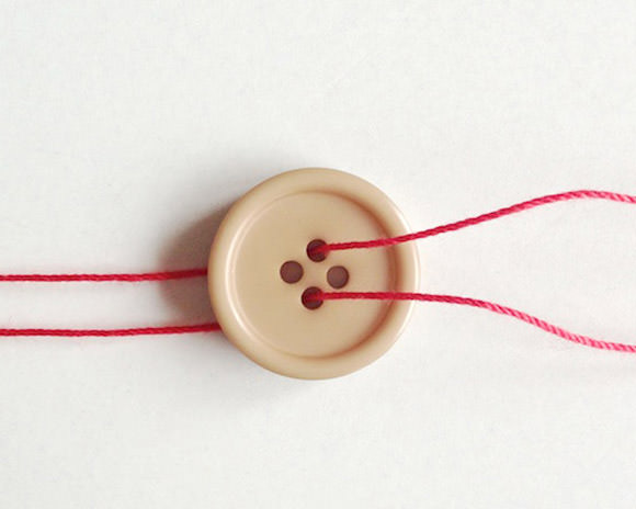 DIY Button Twirly Whirly Toy