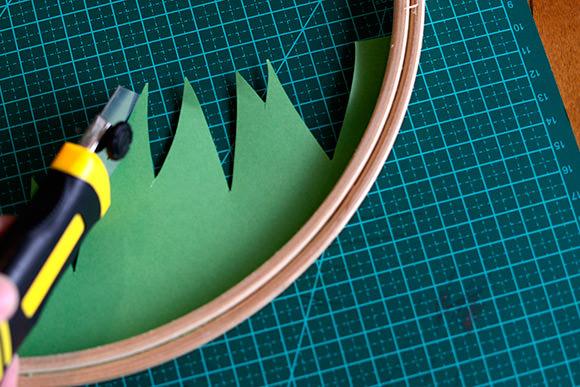DIY Embroidery Hoop Mobile Tutorial: Step 2