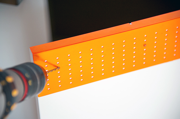 IKEA FIXA Drill Template - simple solution for aligning handles on cabinet drawers and doors!