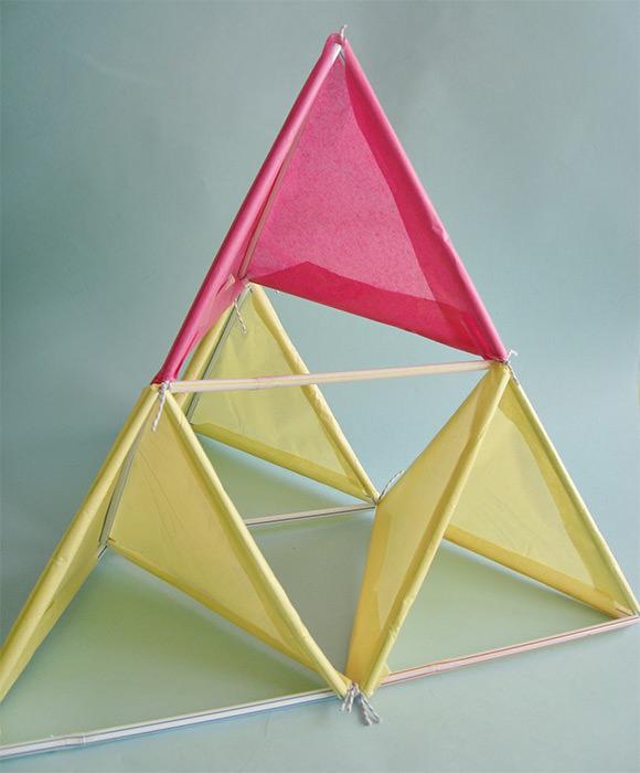 DIY Tetrahedral Kite