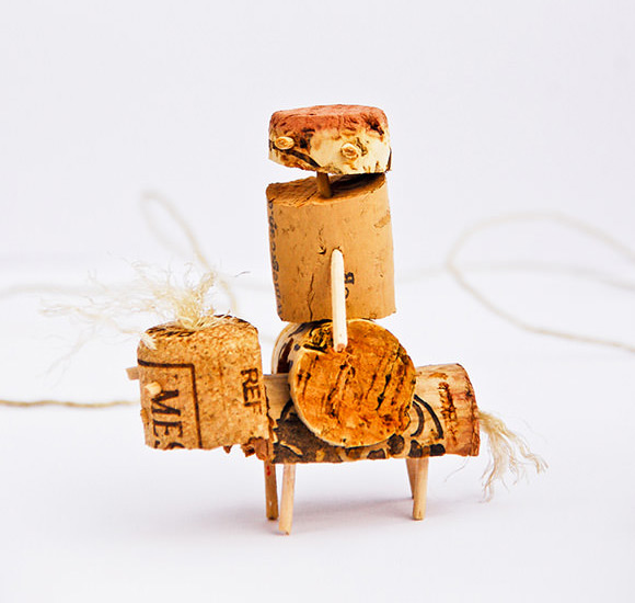 DIY Cork Animals