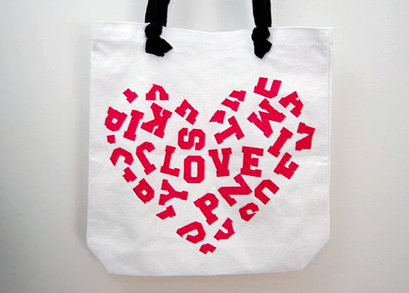 DIY Back-To-School Alphabet Tote