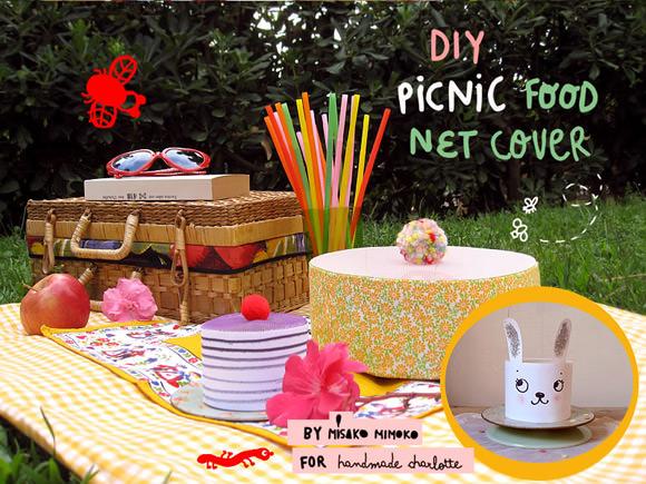 DIY Picnic Food Covers