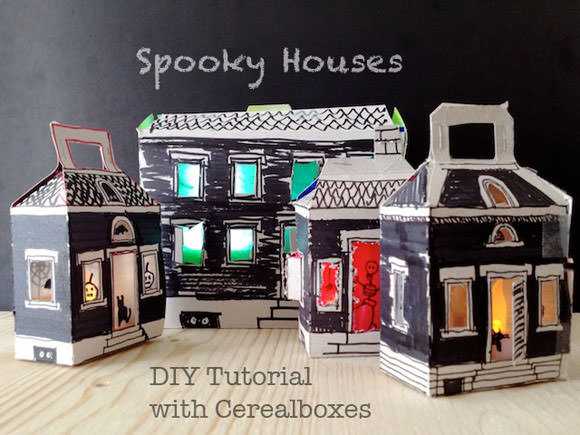 DIY Spooky Houses