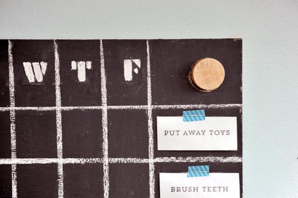 DIY Chore Board
