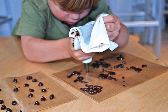DIY Edible Chocolate Art Project for Kids
