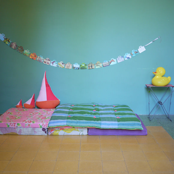 Handmade Quilts, Toys and Paper Garlands from Les Copirates