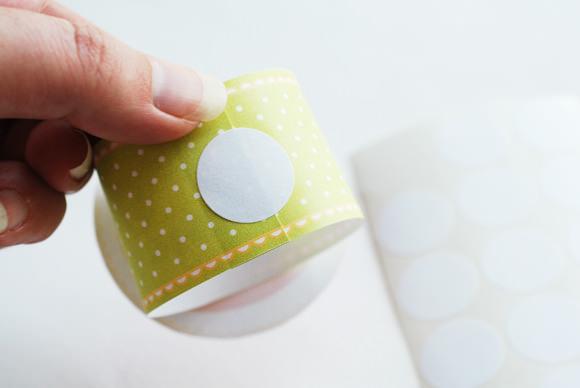 DIY Happy Apple Napkin Rings