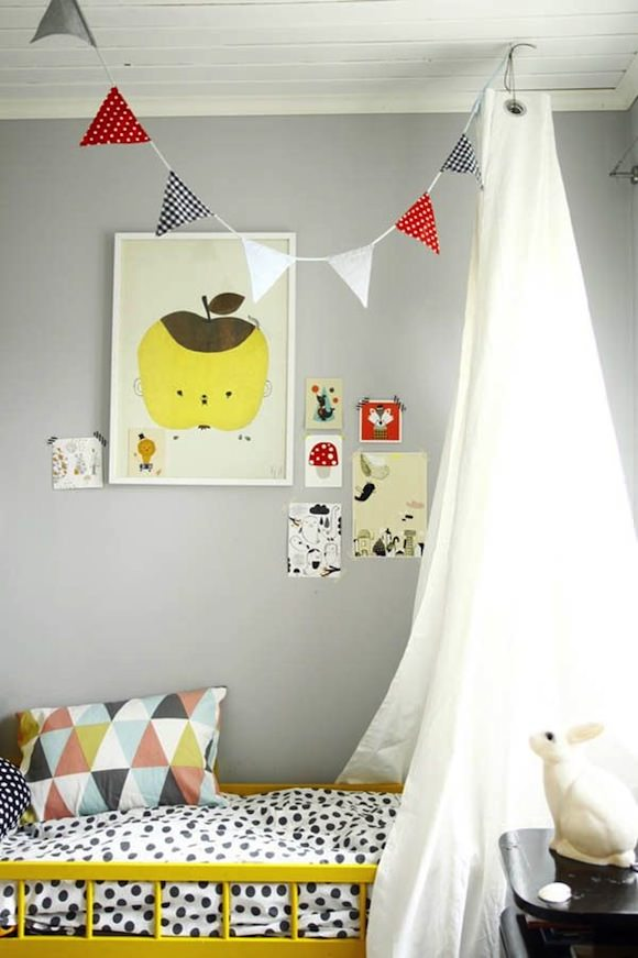 Apple Papple Poster by Fine Little Day // kids room