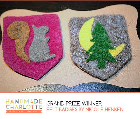 Handmade Charlotte Family Craft Challenge Grand Prize Winner: Nicole Henken