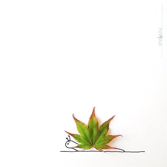 amazing instagram nature art by spielkkind