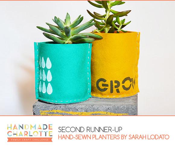 Handmade Charlotte Family Craft Challenge Second Runner-Up: Sarah Lodato