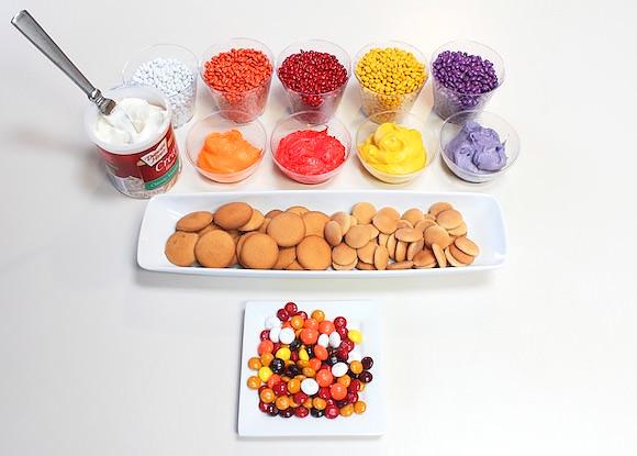 DIY No-Bake Mum Cookies