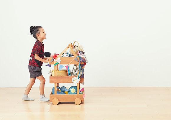The Koloro Wagon for Kids by Torafu Architects