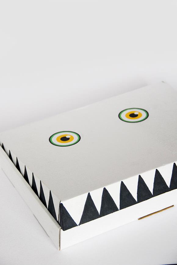 DIY Monster Gift Box