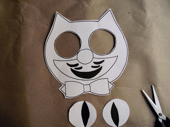 DIY Cat Clock Costume
