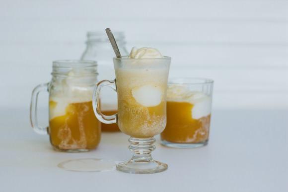 Apple Cider Float Recipe