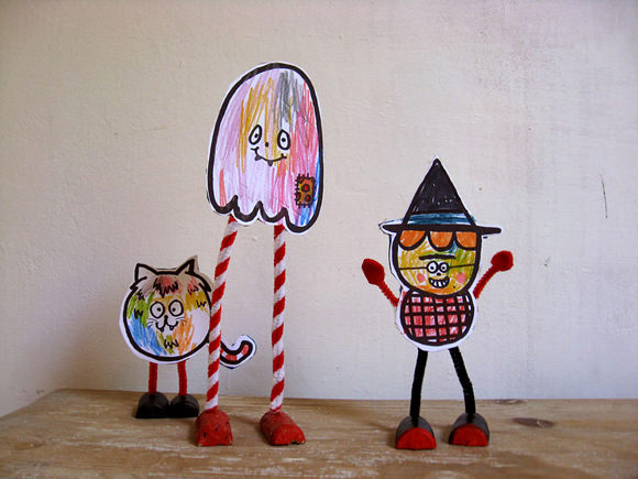 DIY Pipe Cleaner Puppets