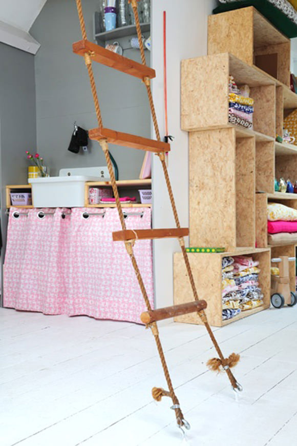 Indoor Rope Ladder