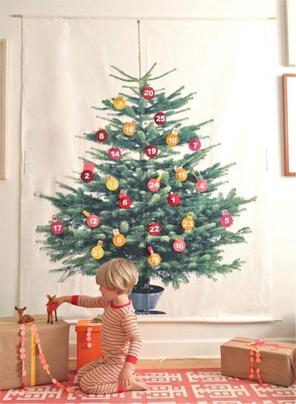 DIY Advent Calendar via Oh Happy Day