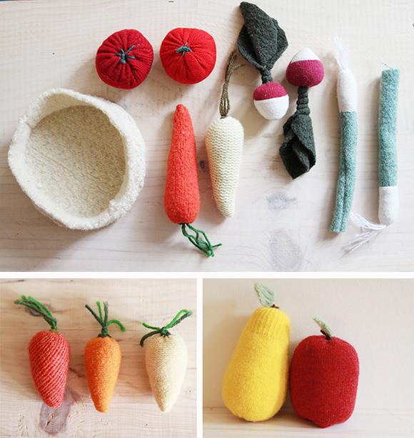Upcycled Fruit & Veggie Set