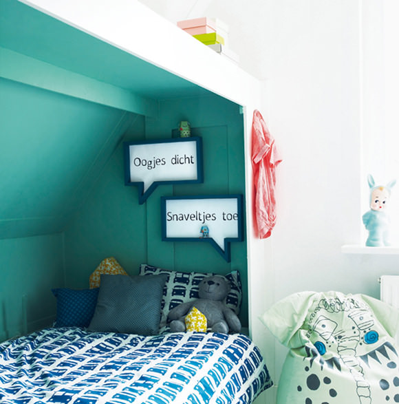lovely kid's room via 101woonideeen