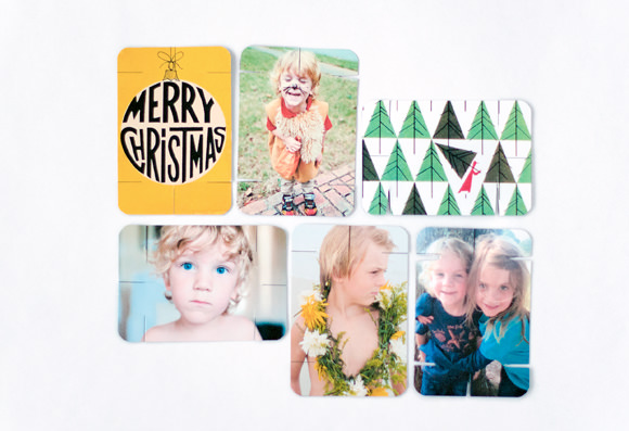 DIY Holiday Stacking Photo Cards