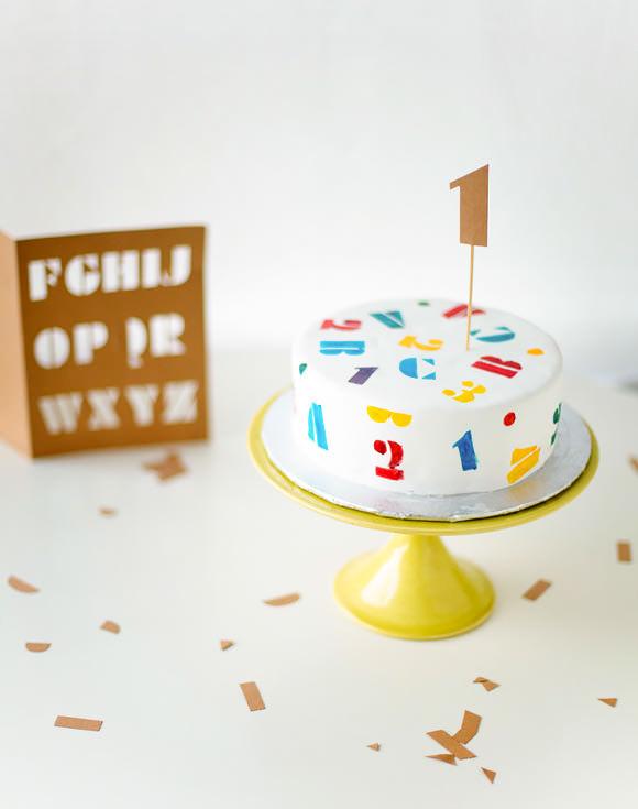 4 pcs Cake Stencil Set 004 Cake Decorating Stencil for Cakes