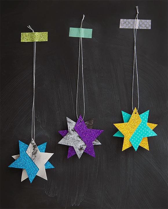 DIY Wish Upon A Star Ornaments