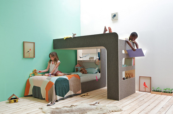 Singular Up and Down Beds