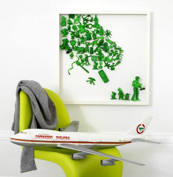 DIY Modern Art For Kids