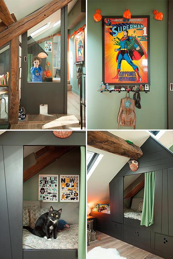 amazing kid's room in interior designer isabelle juy's paris apartment