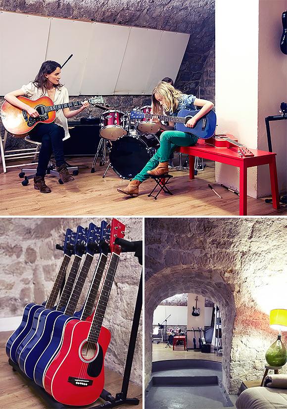 creative family apartment in paris