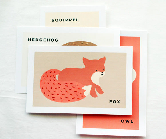 Printable Animal Sewing Cards For Kids
