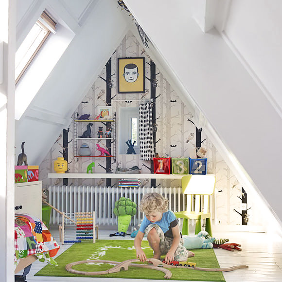 Kid's Room Attic/Loft Space